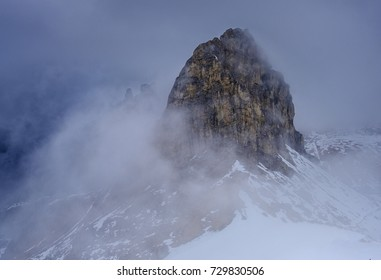beautiful panorama of the Italian Alps