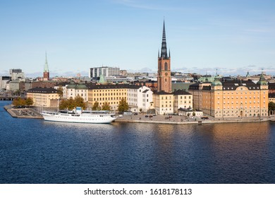Beautiful panorama view of Stockholm, Sweden
