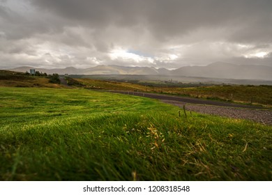 Beautiful panoramic images from isle of skye island in the Highlands of Scotland - amazing views, breathable,storm, dark clouds, a real celebration of nature - enjoy the wilderness.