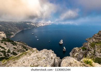 Beautiful Panoramic view in Crimea