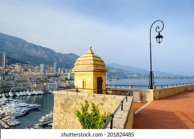 Beautiful panormic view of Monaco