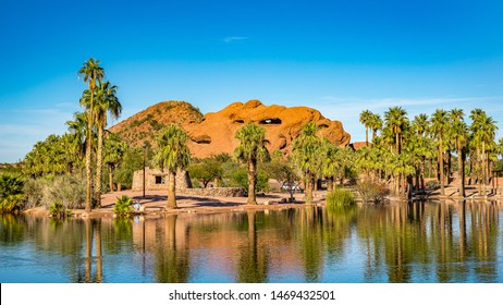 Beautiful Papago Park in Phoenix, Arizona