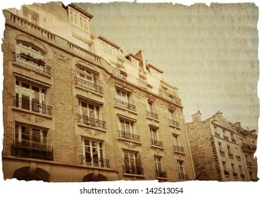 beautiful Parisian streets - with space for text