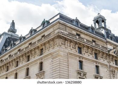 beautiful Parisian streets view paris,france Europe