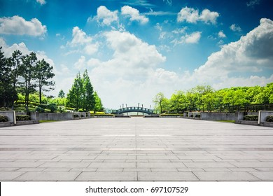 The beautiful park