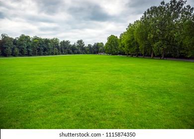 Beautiful park in Brussels, Belgium