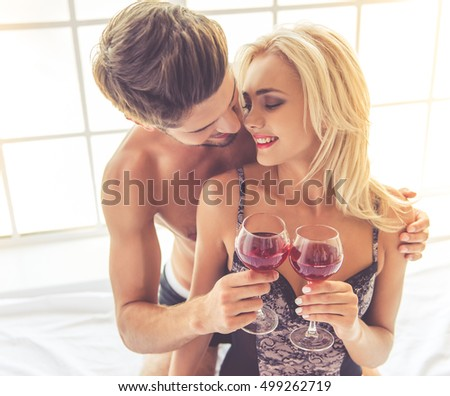 Wine before the sex