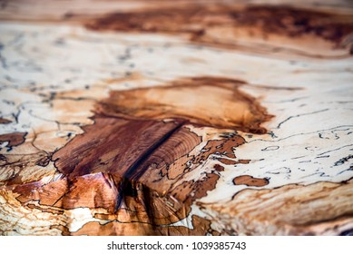 Beautiful pattern of beech table texture