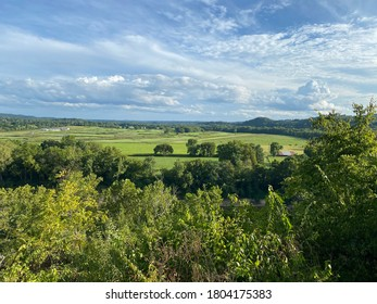 Beautiful and Peaceful View from Bluff View Trail Scenic Overlook