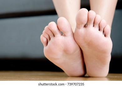 Beautiful perfect women legs and feet .Health and beauty concepts