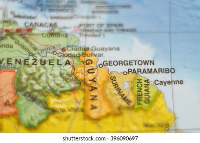 Map Of Guyana Images, Stock Photos & Vectors | Shutterstock