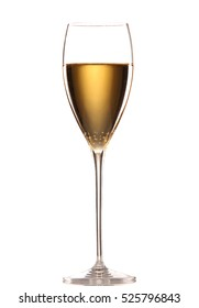 Beautiful picture of a glass of champagne