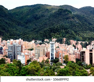 Beautiful picture of the mountains surrounding Bogota - Colombia