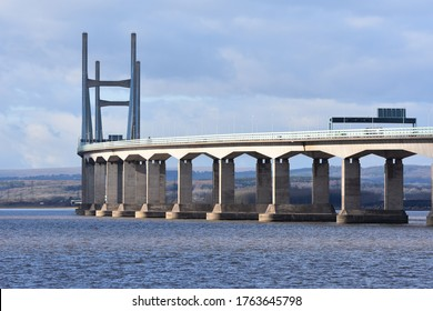 A beautiful picture of the Severn Bridge