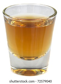 A beautiful picture of a shot of Brandy, Whisey or Scotch!