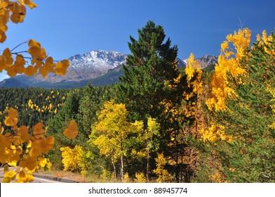 Beautiful Pikes Peak in Autumn 104