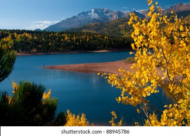 Beautiful Pikes Peak at Crystal Reservoir 101