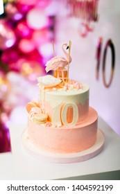 Swell 10Th Birthday Cake Images Stock Photos Vectors Shutterstock Funny Birthday Cards Online Inifodamsfinfo