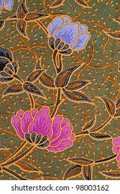Beautiful pink batik patterns