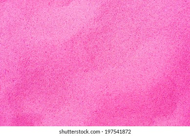 Beautiful pink sand stained