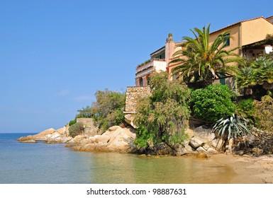 beautiful Place on Elba Island,Tuscany,Italy