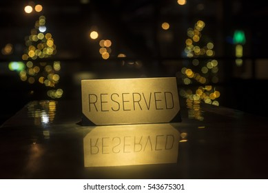 Beautiful plate reserved. Rezerved with space for text. Golden Plate Reserved