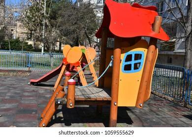beautiful playground  play