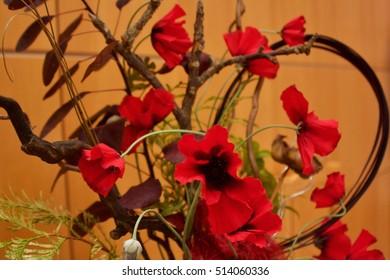 Beautiful Poppy Arrangement