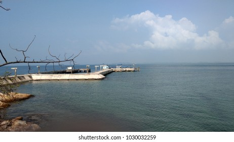 Beautiful port and Beautiful seawater