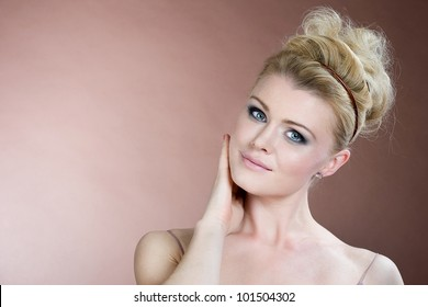 Beautiful portrait of the girl