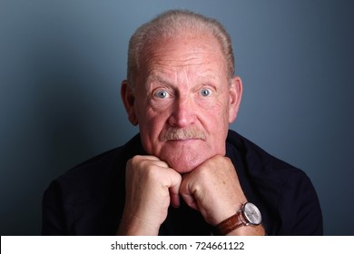 Beautiful portrait of grandpa