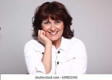 Beautiful portrait of a mature woman