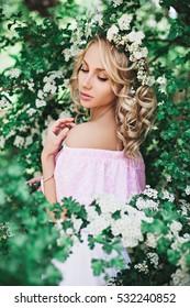 Beautiful Portrait Of Young Slavic Girl