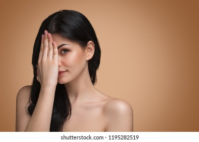 Having naked showing vagina