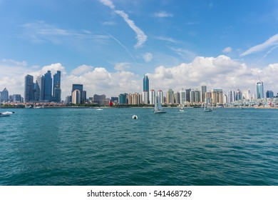Beautiful Qingdao cityscape