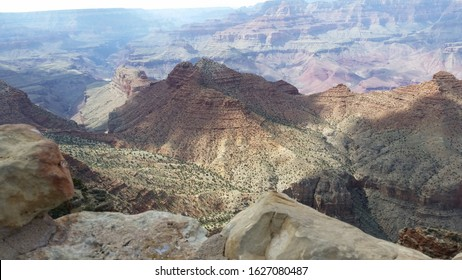 Beautiful raw view of the Grand Canyon during a sunny clear day. Image is unedited.