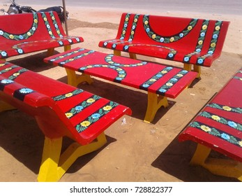 Phenomenal Red Bench Red Temple Images Stock Photos Vectors Ibusinesslaw Wood Chair Design Ideas Ibusinesslaworg