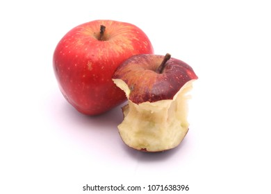 beautiful red and green apples