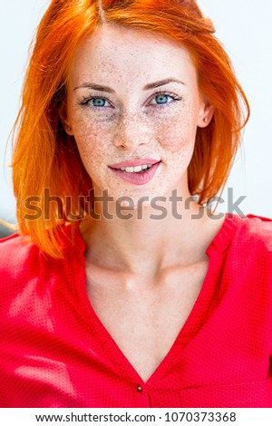 Mature freckled redheads