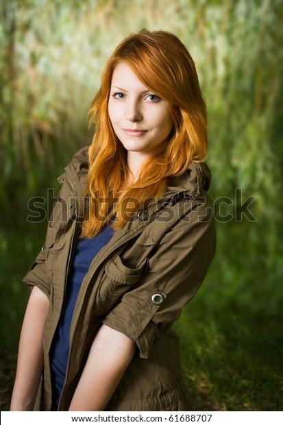 Beautiful Red Head Teen