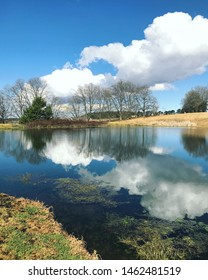 A beautiful reflection on the Midlands Meander on a chilly winters day