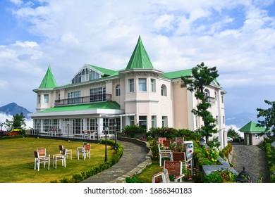 Beautiful resort in hill top