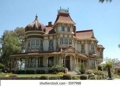 Beautiful restored victorian home located in California