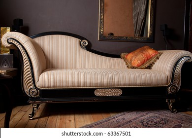 Beautiful and rich couch