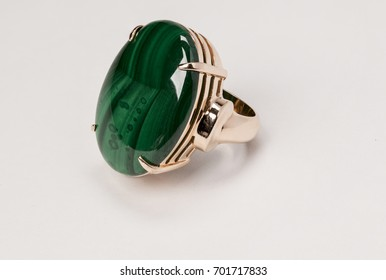 A beautiful ring isolated on a white background