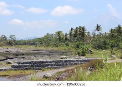Beautiful River In Java Indonesia