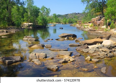beautiful river landscape in Kakadu National Park, Darwin, Australia