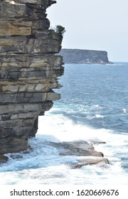 beautiful rock formations at Watsons bay, Sydney
