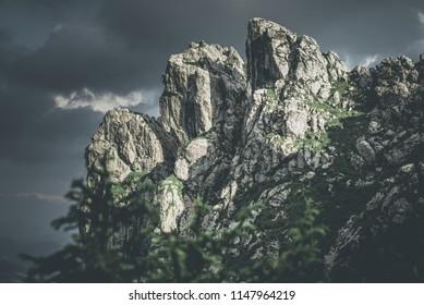 beautiful rocky world landscape