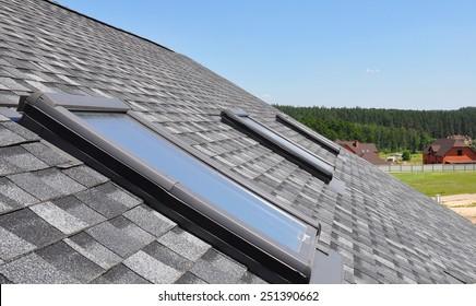 Beautiful roof windows and skylights